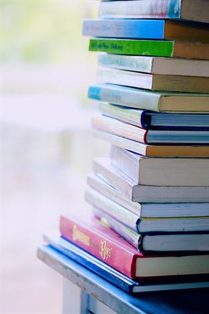 Afbeelding van stapel boeken