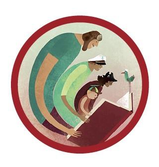 Logo voorleesweek 2020